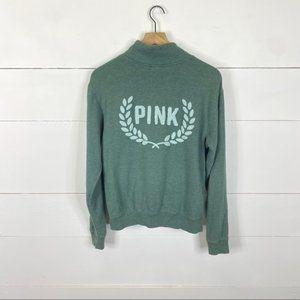 PINK Victoria's Secret Quarter Zip Pullover